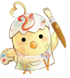 Character Design : AI Illustration - Artistic Chicken