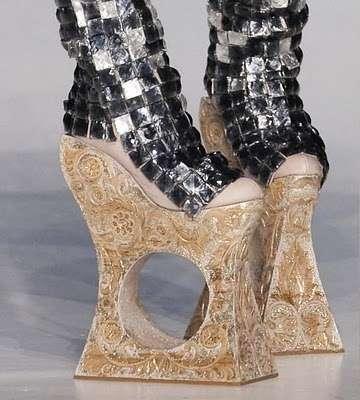 lady gaga ugly shoes. Calling Lady GaGa?